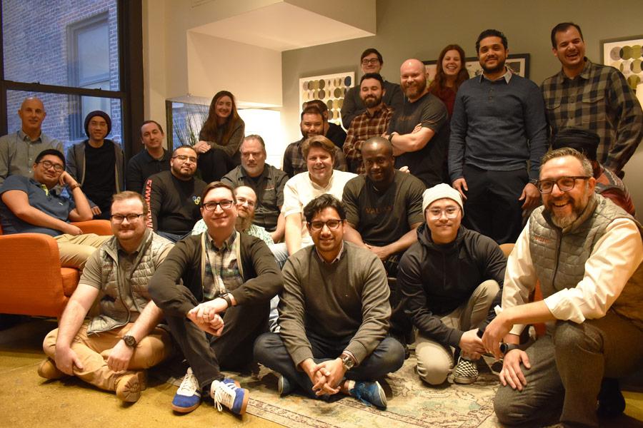 Valiant Team Members at HQ.