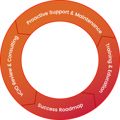 The Valiant Journey: Managed Service Cycle.
