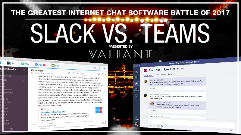 Teams vs Slack, Round 1!