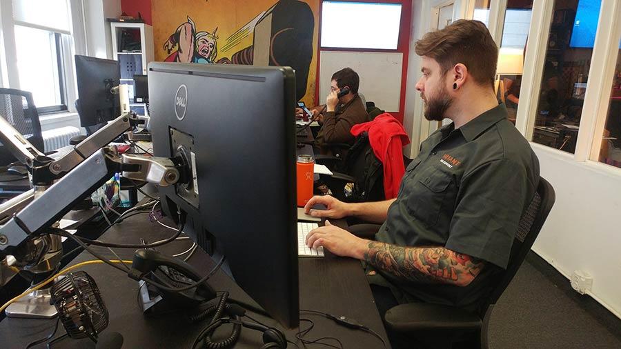 Ergotron Desk Mount for LCD Monitors