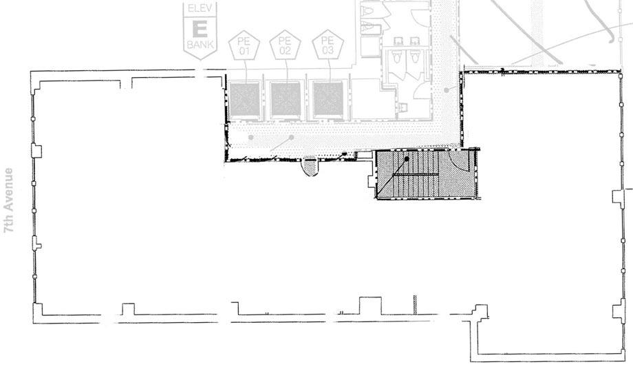 Valiant's new office - empty floorplan
