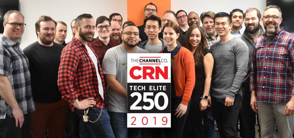 Valiant Technology Named One of 2019 Tech Elite Solution Providers by CRN®