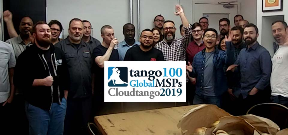 Valiant Technology Named To Tango100 US MSP Award