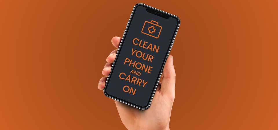 How to disinfect your mobile phone