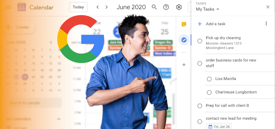 How to Access G Suite Tasks Using the Side Panel
