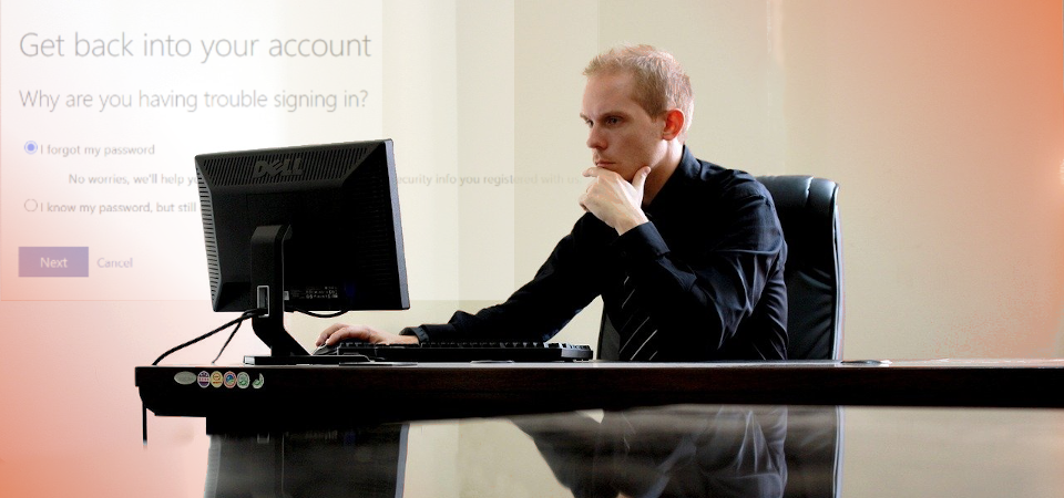 Resetting your Office 365 Password